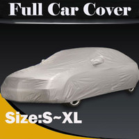 Wholesale Full Car Cover Waterproof Sun UV Snow Dust Rain Resistant Protection S M L XL