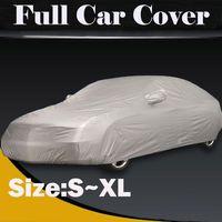Wholesale Full Car Cover Waterproof Sun UV Snow Dust Rain Resistant Protection S M L XL