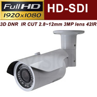 Indoor night view lens - Uinvision P Color HD SDI Day Night View IR Waterproof Bullet Camera Outdoor CCTV Security Camera with mm lens TVL cctv camera