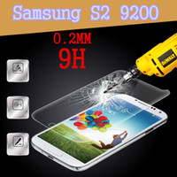 Screen Protectors S2 i9100 - New Hotsale Tempered Glass Screen Protectors Explosion Proof For Samsung galaxy S2 i9100 World Thinnest MM H With Retail Package