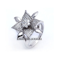 Cheap Cluster Rings Fashion rings Best European Women's Engagement Silver Rings