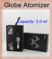 Cheap Replaceable Globe Rig Set Best 2.0ml Electronic Cigarette Wax Vaporizer