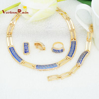 Wholesale 2014 Wedding Accessories Gold Plated jewellery Floating Charms Lockets Vogue Woman Costume America Jewelry Sets A090