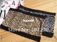 Bras Cotton Normal bra Wholesale-7pcs lot - Sexy Women Lingerie Strapless Leopard Chest wrap Corset Ladies elastic Camisoles tank top For Summer - B010