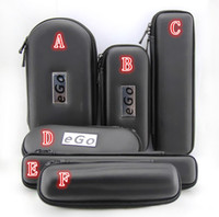 Wholesale Ego Zipper Case Metal Case Electronic Cigarette Zipper Metal Kit E Cig Cases For Ego Evod CE4 CE5 MT3 Protank Ego Starter Kit Top Quality
