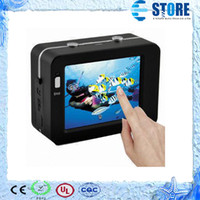Wholesale 2 quot touch screen New arrival HD Extreme Sports Action Camera Waterproof Sports Video Camera M100 Camcorder DV H wu