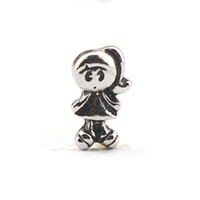 Wholesale New Floating Charms Little GIRL For Floating Living Memory Glass Locket jewelry