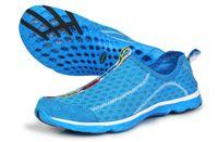 Wholesale 2014 summer new men s casual shoes breathable mesh shoe lovers parent child fashion models