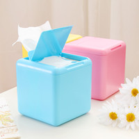 Wholesale Home lovely fashion creative household tissue box tray pumping cotton napkin storage box K2224