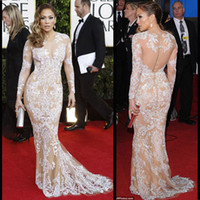 Reference Images V-Neck Organza Elegant Long Sleeve Evening Dresses Zuhair Murad 2014 Winter Formal Prom Gowns for Juniors Custom Made