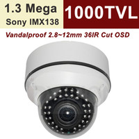 Wholesale Uinvision home and business security Inch Aptina TVL WDR mm vari focal lens IR Leds IP axis bracket built in