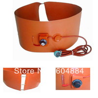 Cheap 2014 Brand New 1Pcs Orange Color 200L 55Gallon 240V 1000W Silicon Band Metal Oil Drum Heater Free Shipping