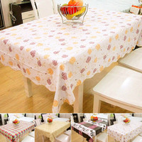 Wholesale Home home colorful color thick waterproof cloth table cloth PVC oil cryogenic difficult to harden K1046