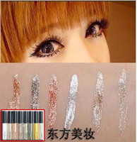 Wholesale Fashionable woman waterproof eyeliner liquid eyeliner pen color makeup Women Beauty Care Eye Liner Good Quality