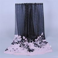 Wholesale 2014 New high end fashion female georgette chiffon scarves Charm scarf silk scarf Silk Scarves