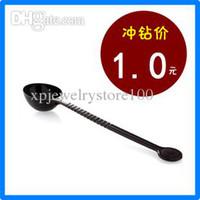 Mayorista - Perla de leche de cuchara de té de polvo de fruta de cuchara de crema cuchara de plástico cucharilla de café 10 2