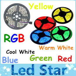 Wholesale Non waterproof M Leds SMD RGB Led Strips Light DC V WW CW R G B Y Best For Chirstmas Home Party
