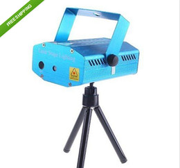 Free Shipping 150MW Mini Red & Green Moving Party Laser Stage Light laser DJ party light Twinkle 110-240V 50-60Hz With Tripod lights