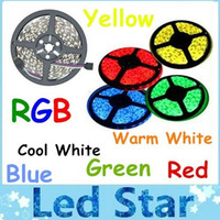 orange red led - 16 ft M Leds SMD Non waterproof Led Strips Light RGB Warm White Cool White Red Green Blue Yellow V m Rolls