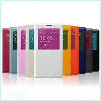 Cheap For Samsung note 3 Best Leather White wholesale note 3