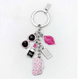 Wholesale New Luxury High Quality Key Ring Key chain Rings Advertising Promotion gift Cheap key chain Fashion