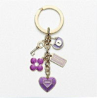 Promotion advertise fashion - New Luxury High Quality Key Ring Key chain Rings Advertising Promotion gift Cheap key chain Fashion