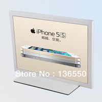 Wholesale Countertop display metallic sign stand holder post display rack for Ipad Iphone5S C promotion