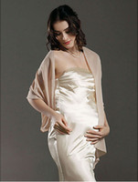 Shawls apricot colors - Chiffon Wedding Party Evening Shawl More Colors Available DH7324