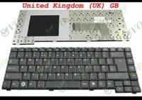 For Fujitsu amilo notebook - New and Original Notebook Laptop keyboard FOR Fujitsu Amilo Pa1510 Pa2510 Pi1505 Pi1537 Pi1556 Pi2515 Black UK GB Version KK012327E2