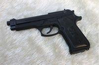 pistol - New Windproof lighter Black U9 Gun Model Pistol Lighter Gun Shape Lighter Cigarette Lighter