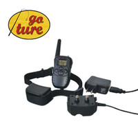 Wholesale 300M LV Charge Able Shock Rechargeable and Waterproof Dog Training Collar with LCD Display I90001