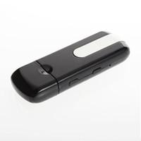Hidden Camera SPC000300  1pcs Mini Hidden DV DVR U8 USB Disk HD Camera Motion Detector Recorder 1280*960 New Hot Selling