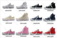 Wholesale brand RENBEN Unisex canvas shoe Low Top amp High Top Sport Shoes Sneakers F009