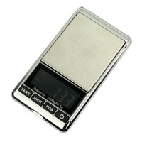 Wholesale 1000g g Pretty mini digital scale with LCD display Black and silver pocket scale for measure weights