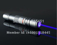 Cheap 20000mw 20w 450nm Waterproof focusable blue laser pointer burning torch +free goggles +free shipping