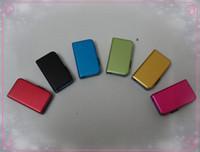 Wholesale HOT Metal push pull U disk colorful GB USB Key Memory Stick Flash Pen Drive USB memory U disk retail package