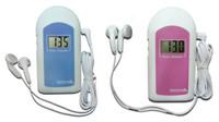 Wholesale Best Price Kids Fetal Doppler With Big Screen Displant AngelSounds Fetal Doppler Pocket Ultrasound Prenatal Portable Baby Heart Rate Monitor
