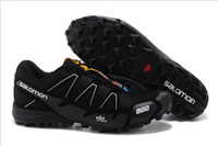 Wholesale Hot EUR USA Popular Salomon Men and women Running shoes Salomon Walking Cross Country Mountaineering Slip