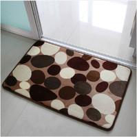 Wholesale 50 CM Extra Thick Stone Pattern Kitchen Bath Slip Mat Door Carpet New Design Home Decor Mats