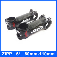 Wholesale 2014 ZIPP Service Course Carbon Fiber Aluminum MTB Road Bike Stems mm mm mm mm Bike Stems