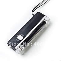 Yes Guangdong, China (Mainland)  free shipping New 2 in 1 UV Black Light Torch Portable Fake Money Detector