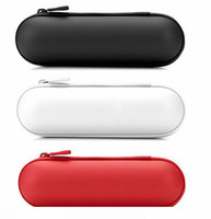 Wholesale Pill Wireless Speakers carry pouch case bluetooth Pill Audio player Speaker leather case