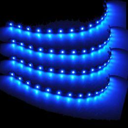 discount interior home lighting wholesalers favor 4pcs 12 blue waterproof 3528 led strip lamps home interior lighting 1