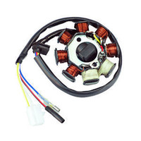 Clocks New Yes FAVOR Alternator Magneto Stator 8 Coil 8 Pole 4 Wire GY6 50cc AC ATV Scooter In Stock