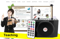 Wholesale Waistband Loudspeaker with Microphone Voice Amplifier Booster Megaphone Speaker For Teaching Tour Guide Sales Promotion Sports