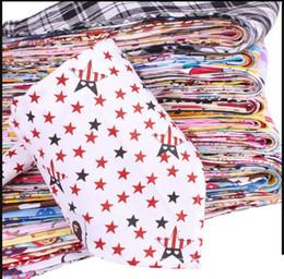 Wholesale Baby Bibs Feeding Clear Triangle Cotton Kid Head Scarf Infant Bibs Burp Cloths saliva triangle pc