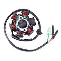 Clocks Yes C033004 FAVOR Alternator Magneto Stator 6 Coil 6 Pole 5 Wire GY6 125cc 150cc ATV Moped Scooter In Stock