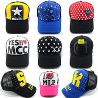 Wholesale Spring Brand New Cotton Mens Hat letter Bat unisex Women hats baseball cap snapback design mix
