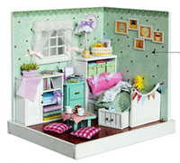 15 Years+ novelty gifts and toys - Diy Doll house Pure and fresh and agile The wizard of oz manual villa model room gifts creative novelty toys Dollhouse Miniature