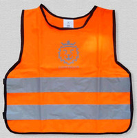safety vests reflective - Low stretch yarn children s reflective vest Reflective vest pupil reflective clothing traffic safety vest